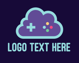 Xbox - Blue Cloud Gaming logo design