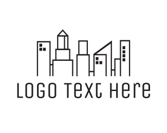 Office - City Town logo design