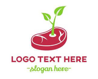 Steak - Healthy Steak logo design