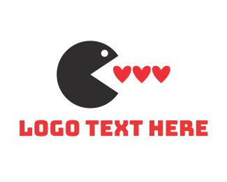 Eating - Love Eater logo design