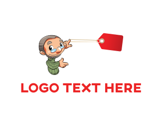 Woocommerce - Grandpa Coupon logo design