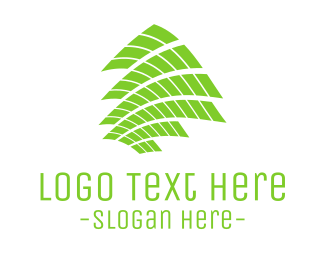Solar Panel - Green Tech Screen logo design