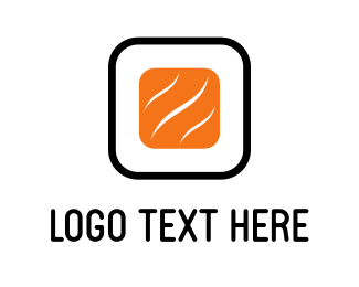 Roll - Abstract Sushi logo design