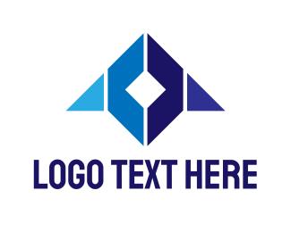 Airforce - Blue Cube Gaming logo design