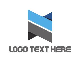 Letter N - Modern Letter N logo design