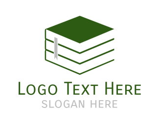 Novel - Green Books logo design