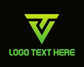Linked - Tech Shield logo design