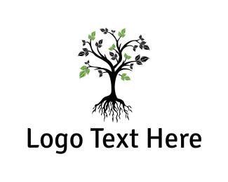 Environment - Tree Root logo design