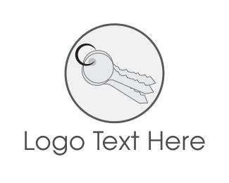 Locksmith - Key Circle logo design