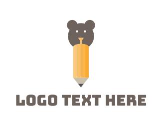 Creative Agency - Bear Art logo design