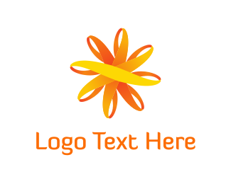 Beam - Sun Flower logo design