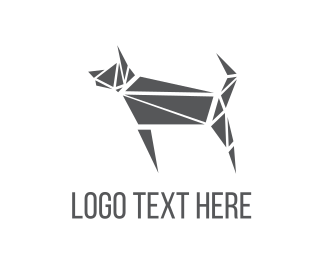 Doggy - Abstract Puzzle Dog logo design