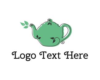 Coffee Shop - Nature Tea logo design