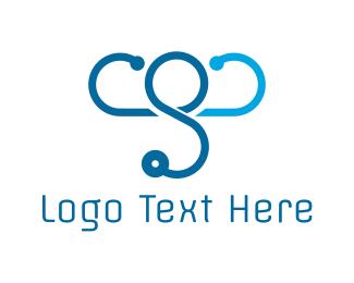 Stethoscope - Elephant Doctor logo design