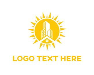 Morning - Sun City logo design