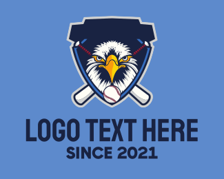 Baseball - Wild Eagle logo design