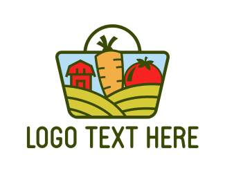 Health - Farm Market logo design