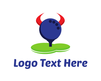 Golf Course - Golf Horns logo design