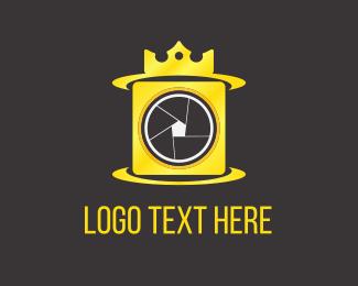 Crown - Camera King  logo design