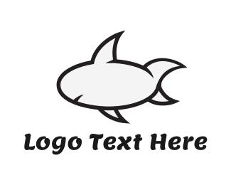 Quote - Cartoon Shark logo design