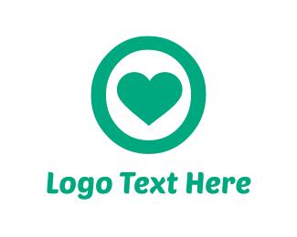 Cardio - Mint Heart logo design