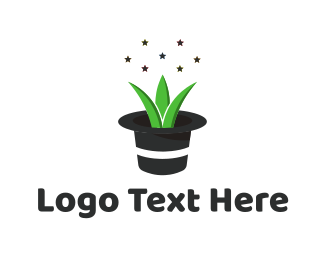 Yard Care - Magic Plant logo design
