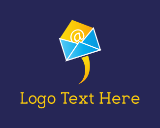 Mailing - Flying Mail  logo design