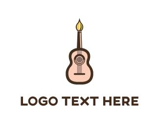 Guitar Artist Logo