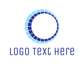 Orbit - Blue Planet Orbit logo design