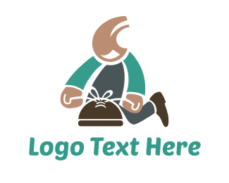 Leather - Shoe Repair logo design