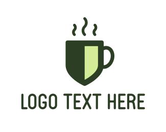 Coffee - Coffee Shield logo design