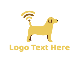 Signal - Dog Signal logo design
