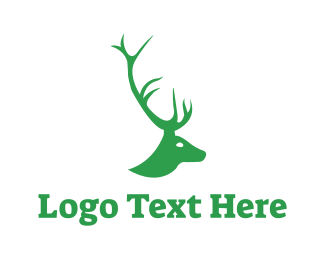 Horns - Stag Horn logo design