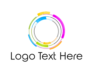 Rotary - Colorful Circle logo design