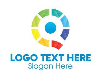 Lgbt - Colorful Letter Q logo design