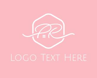 Furnishing - P & R logo design