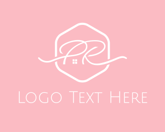 France - P & R logo design