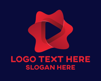 Video Player - Multimedia Player logo design