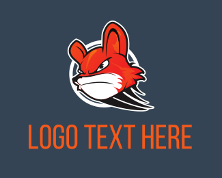 Fast - Dashed Fox logo design