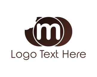 Bite - Bite Letter M logo design