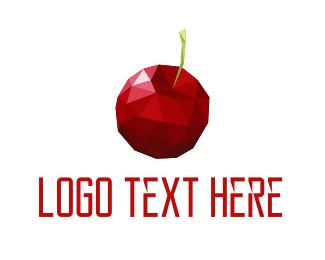 Grocery - Crystal Cherry logo design