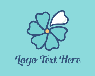 Dental - Blue Blossom logo design