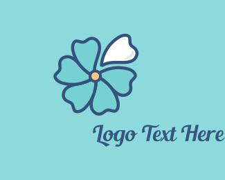 Dental Clinic - Blue Blossom logo design