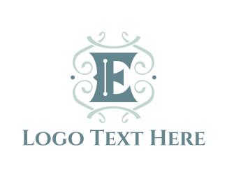 """""""Classic Letter E"""" by danielxx"""