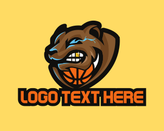 Varsity - Grizzly Basketball logo design