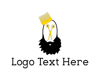 Barber - Beard King logo design