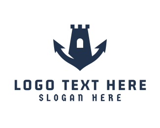 Kingdom - Marine Fortress logo design