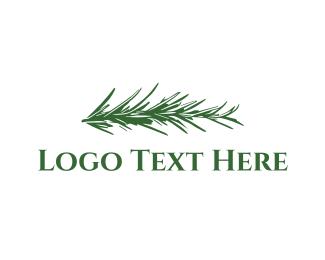 Spice - Rosemary logo design