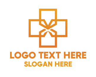 Surgery - Shield Cross logo design