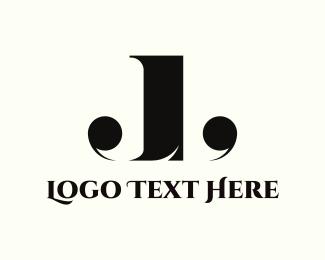 Writer - J & L logo design